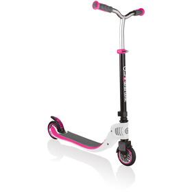 Globber Flow Foldable 125 Scooter Kids, biały/różowy